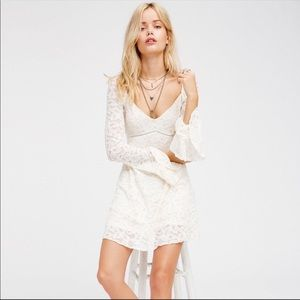 free people | blue skies lace dress in ivory